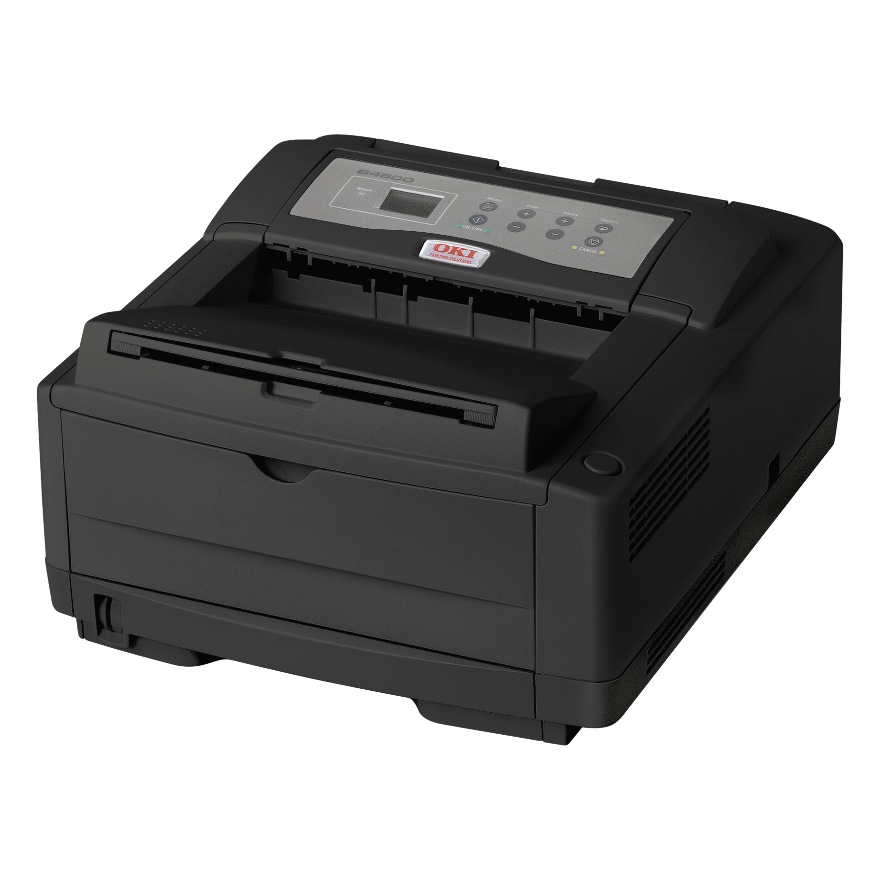 Oki B4600 Series Digital Monochrome Printer, 120V, Black