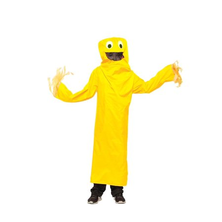 Wacky Waving Tube Guy Adult Costume - Yellow - Fat Guy Costumes