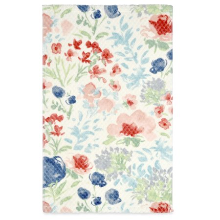 Better Homes & Gardens Tranquil Floral Bath Towel, 1 Each (Floral Bath Towels)
