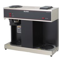BUNN VPS 12-Cup Commercial Coffee Brewer, 3 Warmers