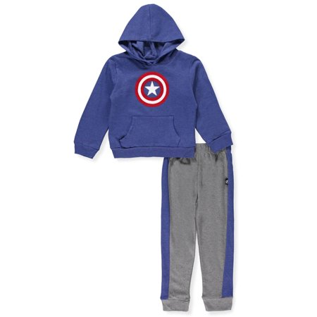 Captain America Boys' 2-Piece Pants Set Outfit