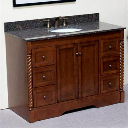 Legion Furniture 49W x 22D in. Gravenhurst Granite Vanity Top