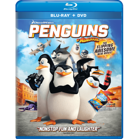Penguins of Madagascar (Blu-ray + DVD)