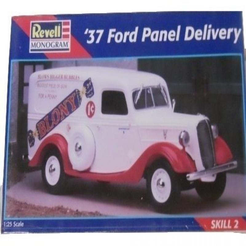 Revell Monogram 37 Ford Panel Delivery 1:25 Scale Model Car Kit by