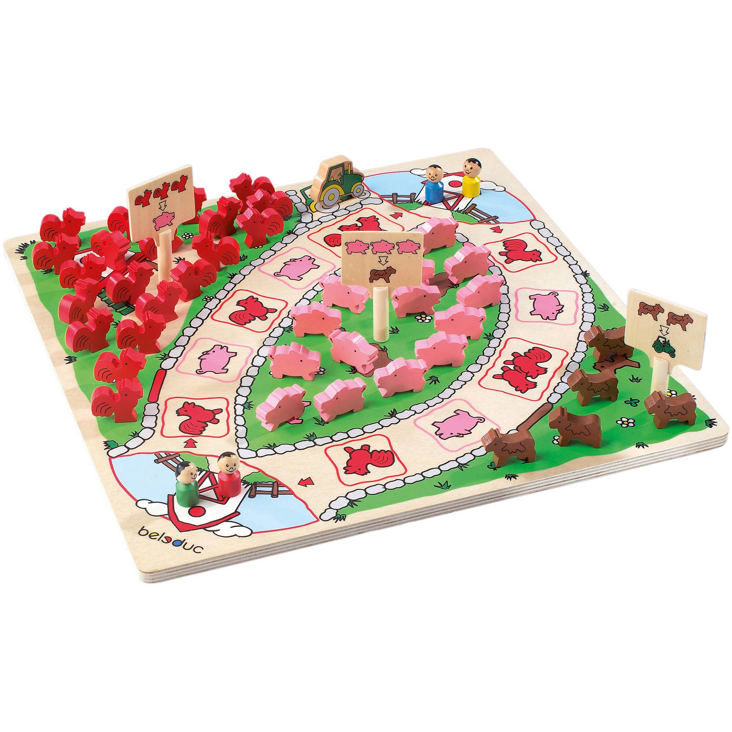 BELEDUC Happy Farm In Color Box by Beleduc