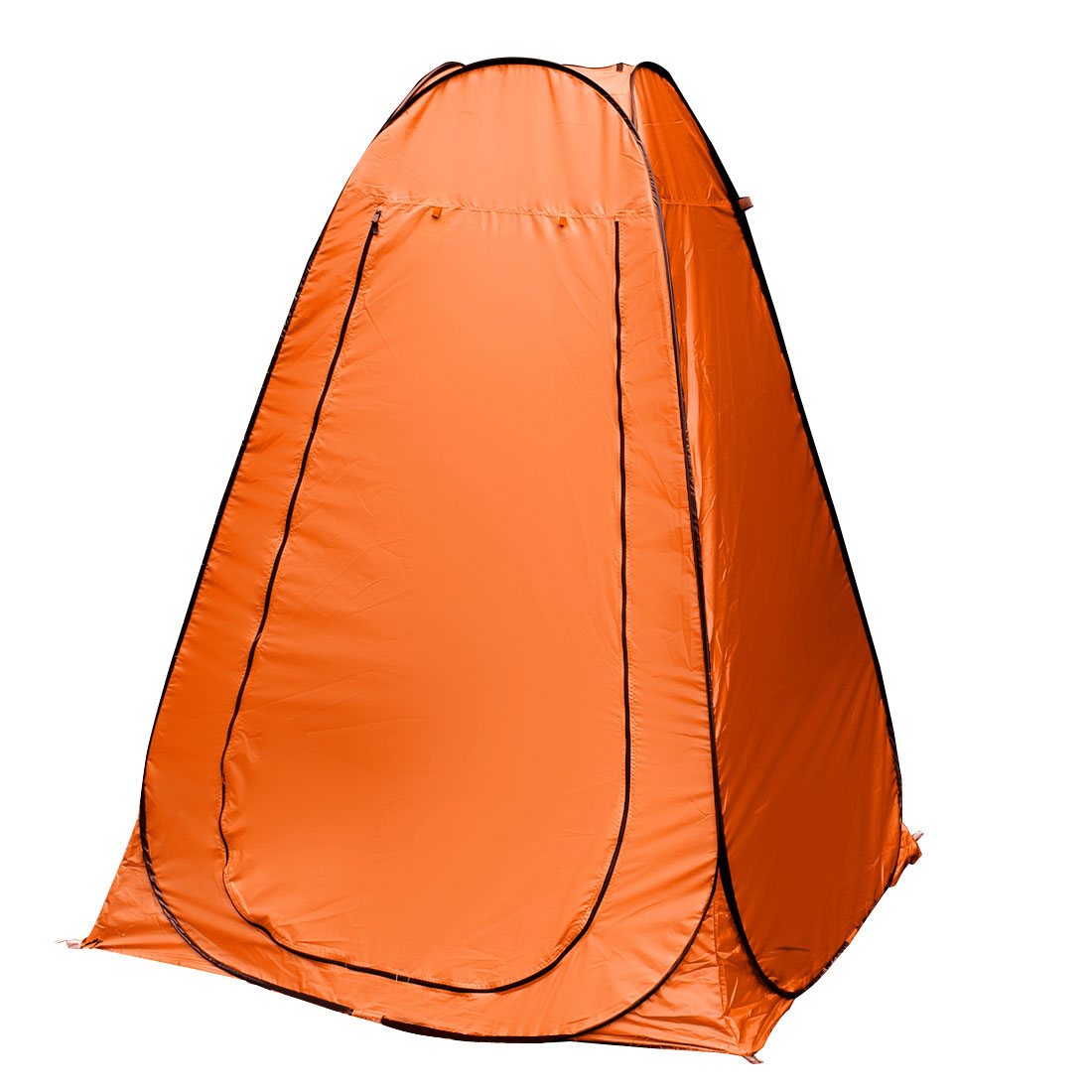 Click here to buy Outdoor Portable Pop-Up Camping Beach Toilet Dressing Changing Room Tent Orange.