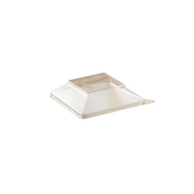 EMI Yoshi EMI-604LP Clear Notion Cube Dome Lid - Pack of 1000