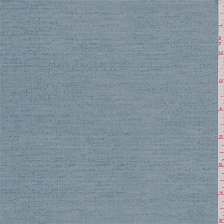 Blue Print Ultrasuede, Fabric Sold By the Yard