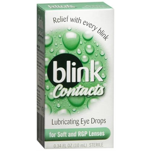 blink Contacts Lubricating Eye Drops 10 mL (Pack of 3)