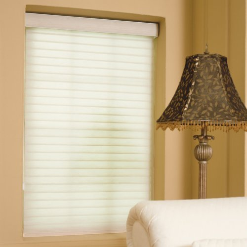 Shadehaven 42 1/2W in. 3 in. Light Filtering Sheer Shades with Roller System