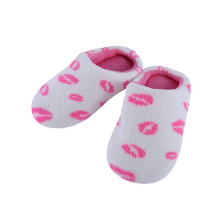Aihome Winter Men Women Soft Non-slip Cotton Home Slippers