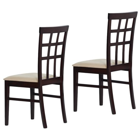 Warehouse of Tiffany  Justin Dining Chairs (Set of (Justin Warehouse)