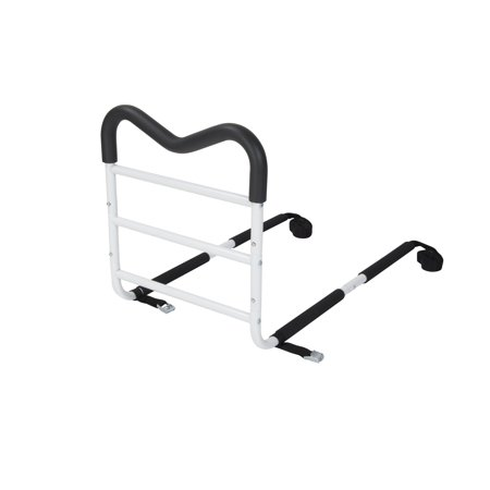 Drive Medical M-Rail Home Bed Assist Handle with Pouch