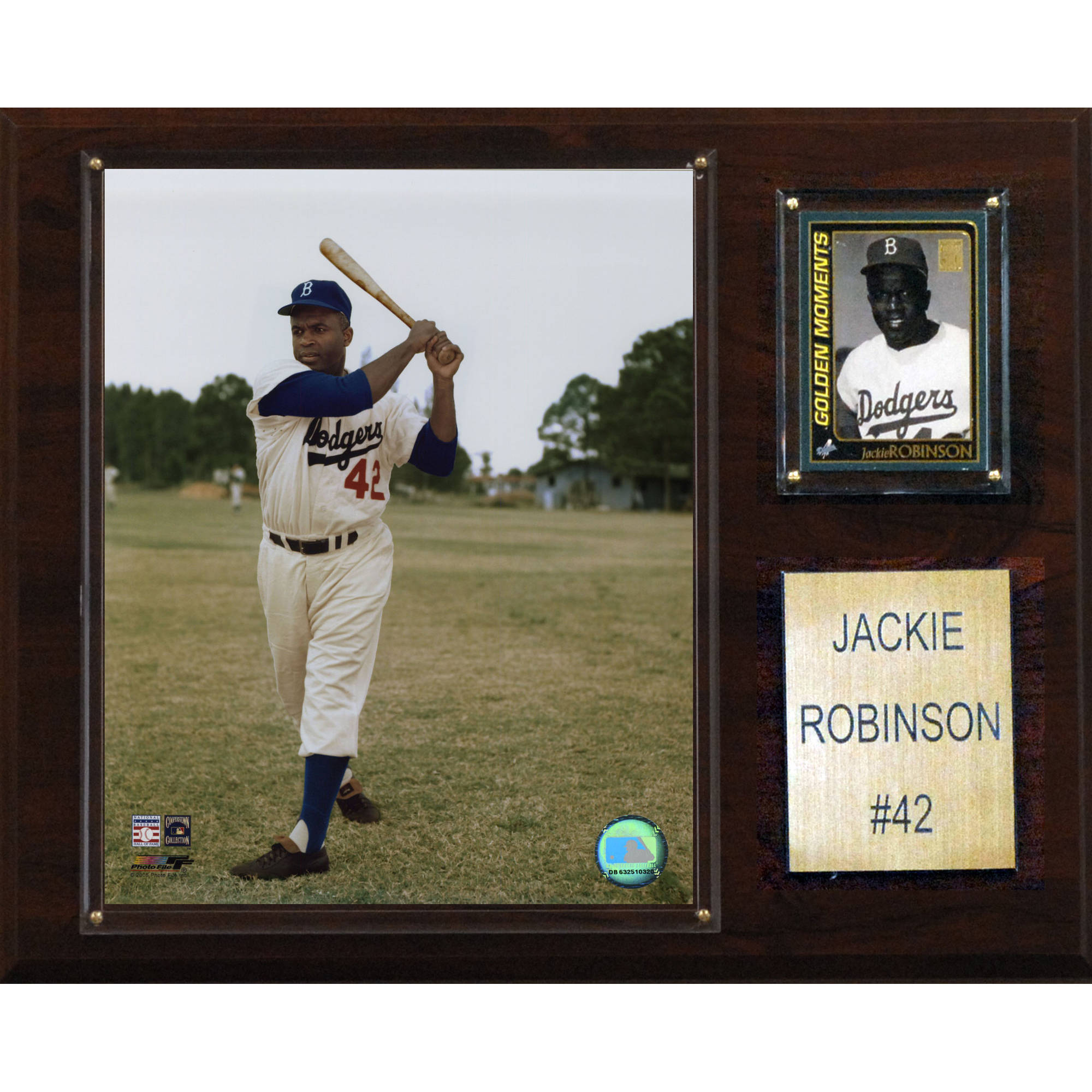 C&I Collectables MLB 12x15 Jackie Robinson Brooklyn Dodgers Player Plaque