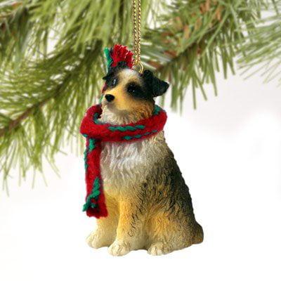 Conversation Concepts Australian Shepherd Brown w/Docked Tail Original Ornament Australian Shepherd Christmas Ornament