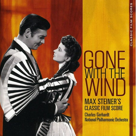 Gone With the Wind: The Classic Film Scores (CD) (Remaster) (Halloween Film Music Score)
