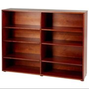 Kids 8 Shelf Wooden Bookcase