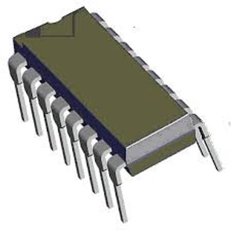 SN74AS175N Integrated Circuits Quad D-Type Flip Flop 16 Pin DIP (1 piece) - 74AS175