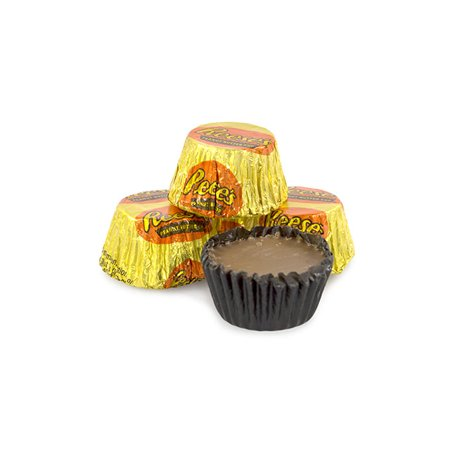 Reese's, Peanut Butter Cups Miniatures Candy, 25 (White Reese's)