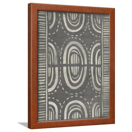 Mudcloth Print - Mudcloth Patterns II Framed Print Wall Art By June Vess