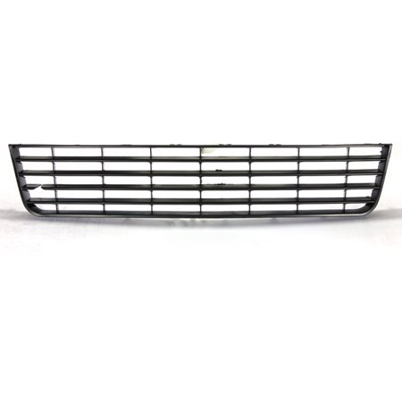 Front Bumper Lower Grille Center For VW Rabbit Golf MK5 2006-2008 Black ABS Plastic US