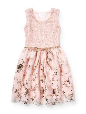 Product Image Allover Butterfly Easter Dress (Little Girls   Big Girls) af79f5185