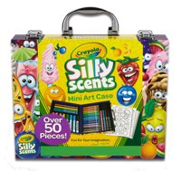 Crayola Silly Scents Mini Inspiration Art Case Coloring Kit, Gift for Kids Ages 3+
