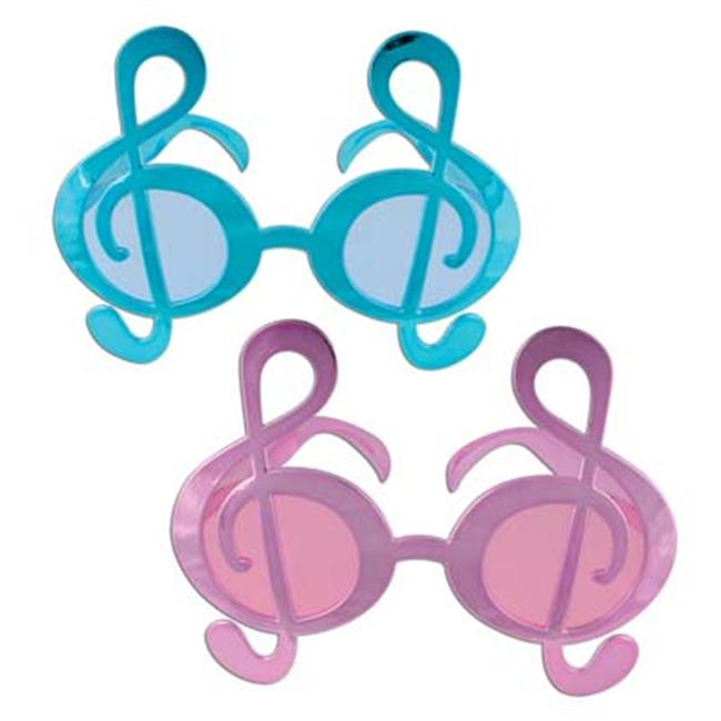 Beistle G Clef Fanci-Frames - Pack of 6
