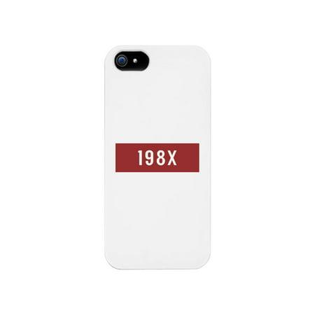 198X Phone Case - 80's Halloween Costumes Ideas
