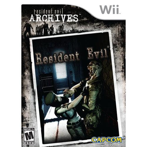 Wii - Resident Evil Archives: Resident Evil