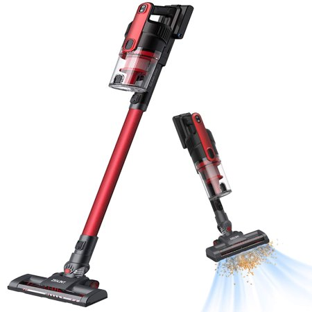 Cordless Vacuum for Car, ZIGLINT 2-in-1 Cordless Stick Vacuum Cleaner Handheld on Sale with 8000Pa Powerful Suction Rechargeable Lithium Battery for Pet Hair Car Carpet Hardwood Floor
