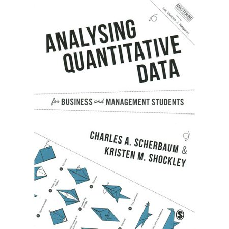 Analysing Quantitative Data for Business and Management