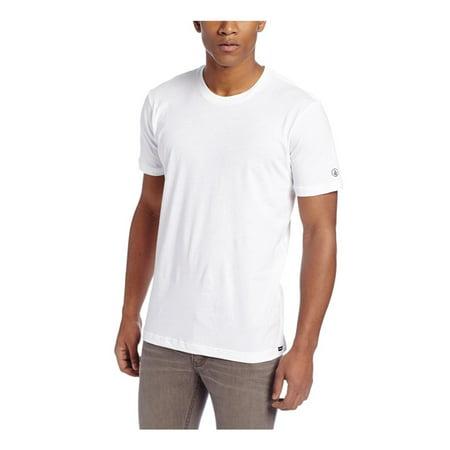 Volcom Mens The Under T Graphic T-Shirt, White, Small Volcom Mens Block