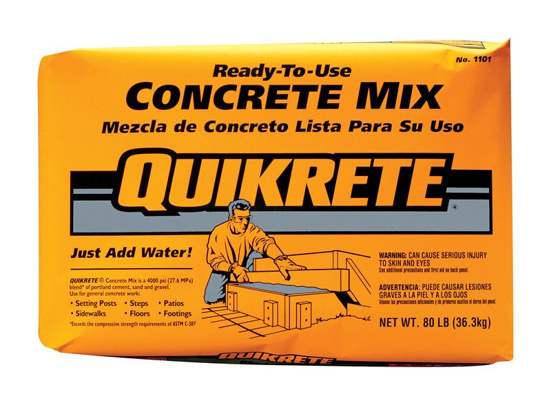 Quikrete Concrete Mix 80 Lbs. by Quikrete Co.