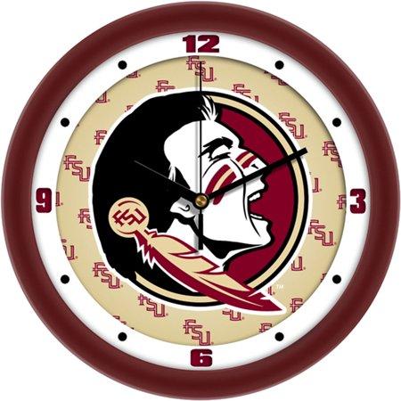 Florida State Seminoles Desk Clock - Florida State Seminoles NCAA Dimension Wall Clock