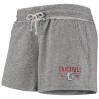 St. Louis Cardinals Women's Annual Ladies French Terry Tri-Blend Shorts - Gray