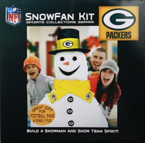 Green Bay Packers Snowman Fan Kit