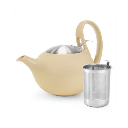 Chantal ceramic clear pure cup ceramic teapot stainless lid jasmine - Chantal teapots ...