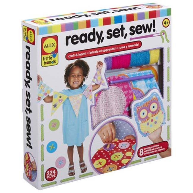 Alex Brands 0A250000-3 Little Hands Ready Set Sew