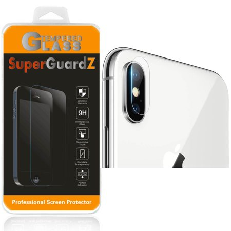 newest e65e9 9a19d [2-Pack] For Back Camera of Apple iPhone X / iPhone 10 - SuperGuardZ  Tempered Glass Screen Protector [Anti-Scratch, Anti-Bubble] + 4-in-1 LED  Stylus ...
