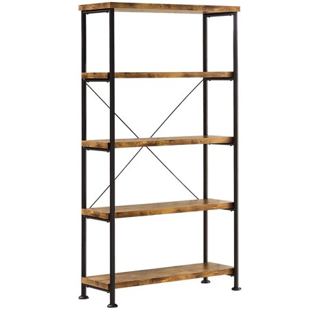 A Line Furniture Mid Century Industrial Design Home Office Collection Bookcase -Only