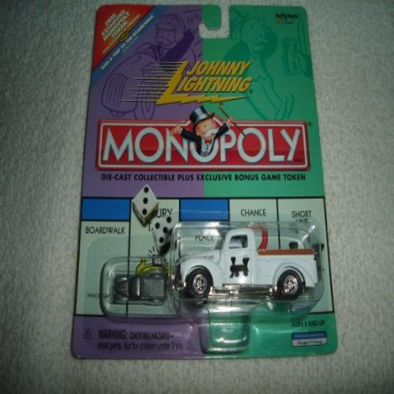 Playing Mantis Johnny Lightning - Monopoly - Reading Rail...