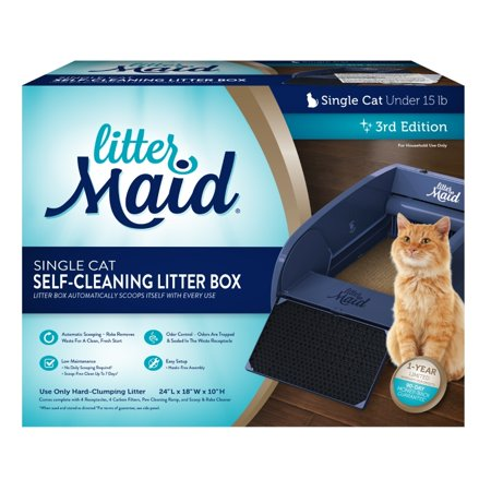 Littermaid Single Cat Self Cleaning Cat Litter Box