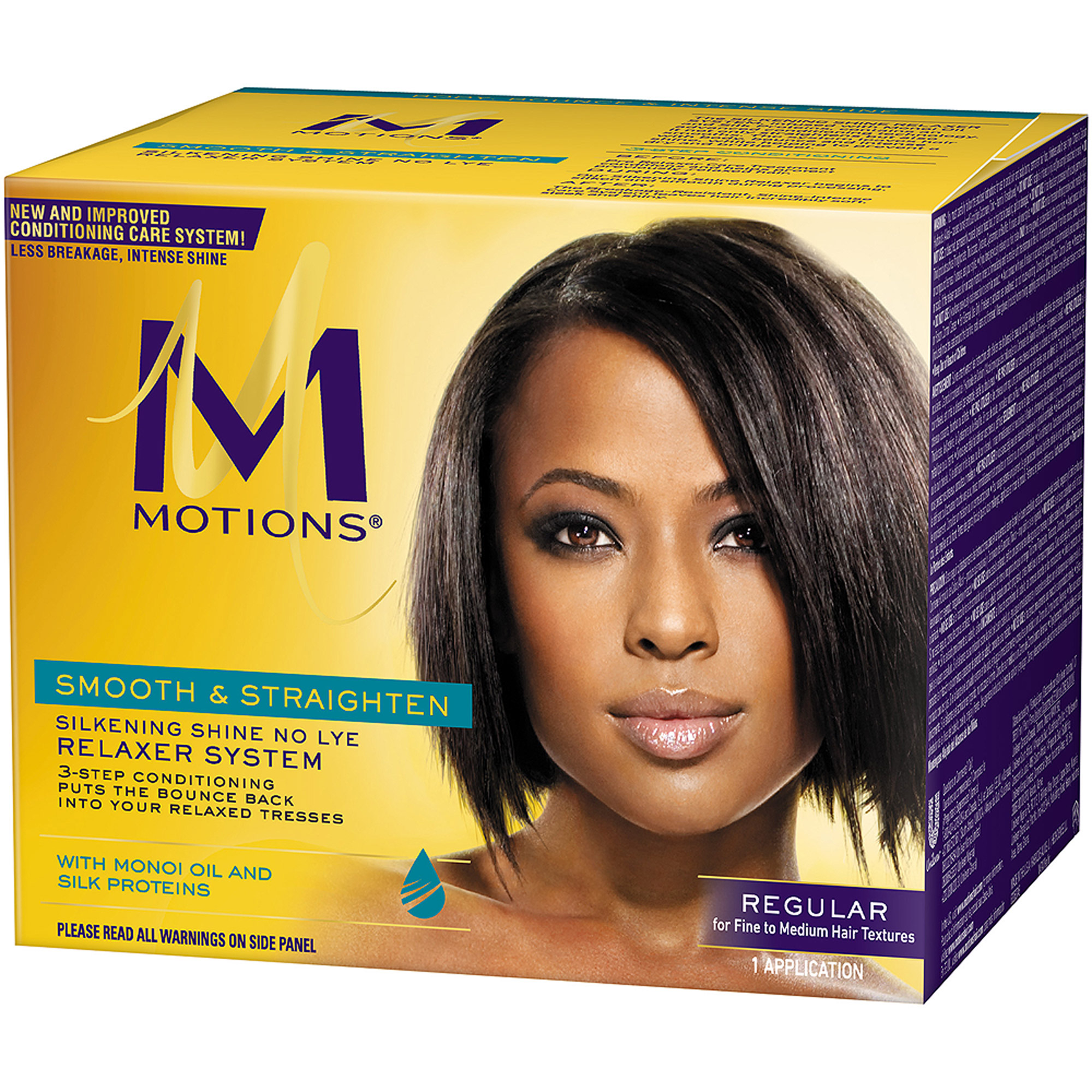 Motions Smooth and Straighten Regular No Lye Relaxer System