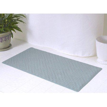 Medium (16'' x 28'') Slip-Resistant Rubber Bath Tub Mat in Sage](Rubber Man)