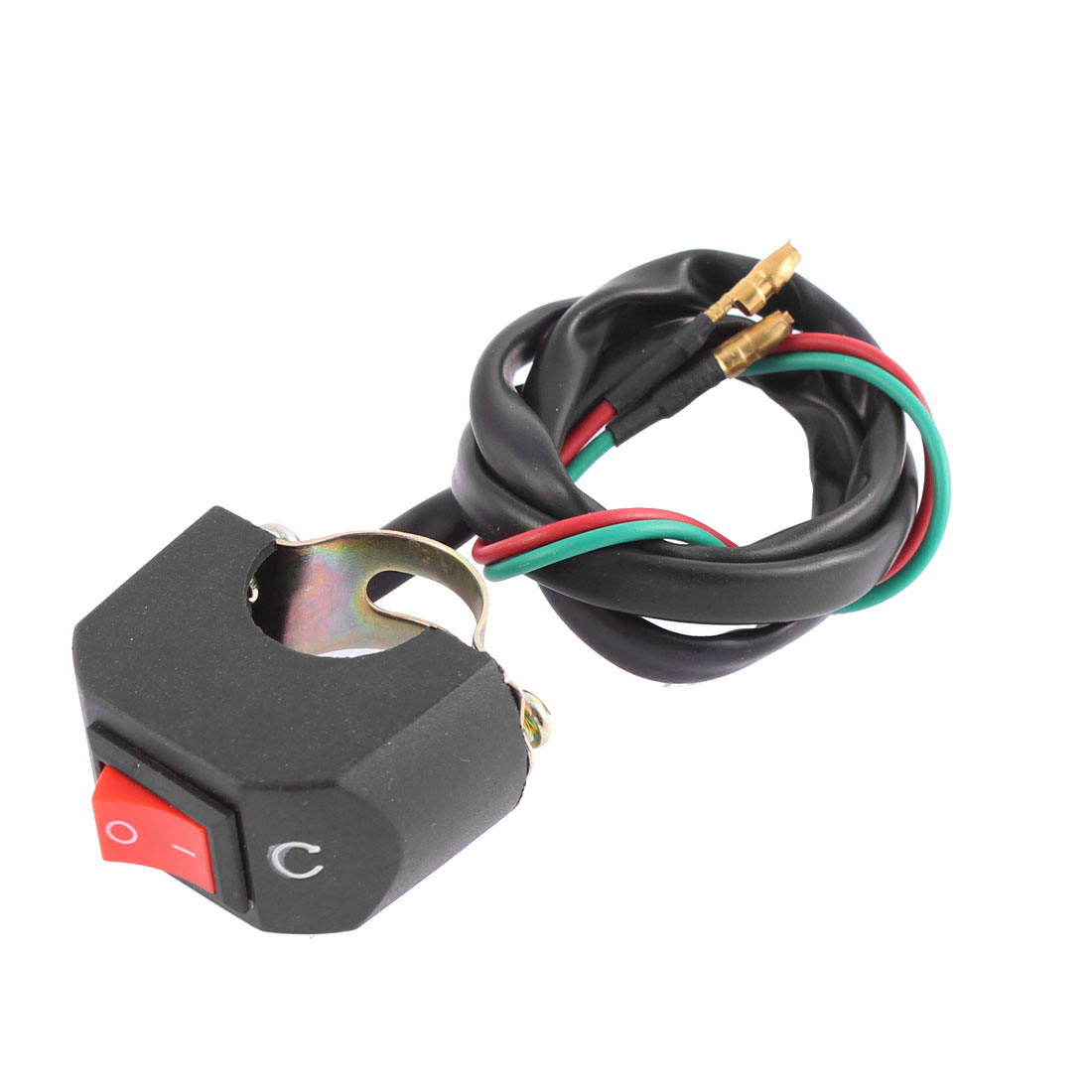Unique Bargains Universal Motorcycle Scooter ATV Handlebar Headlight On-Off Kill Stop Switch
