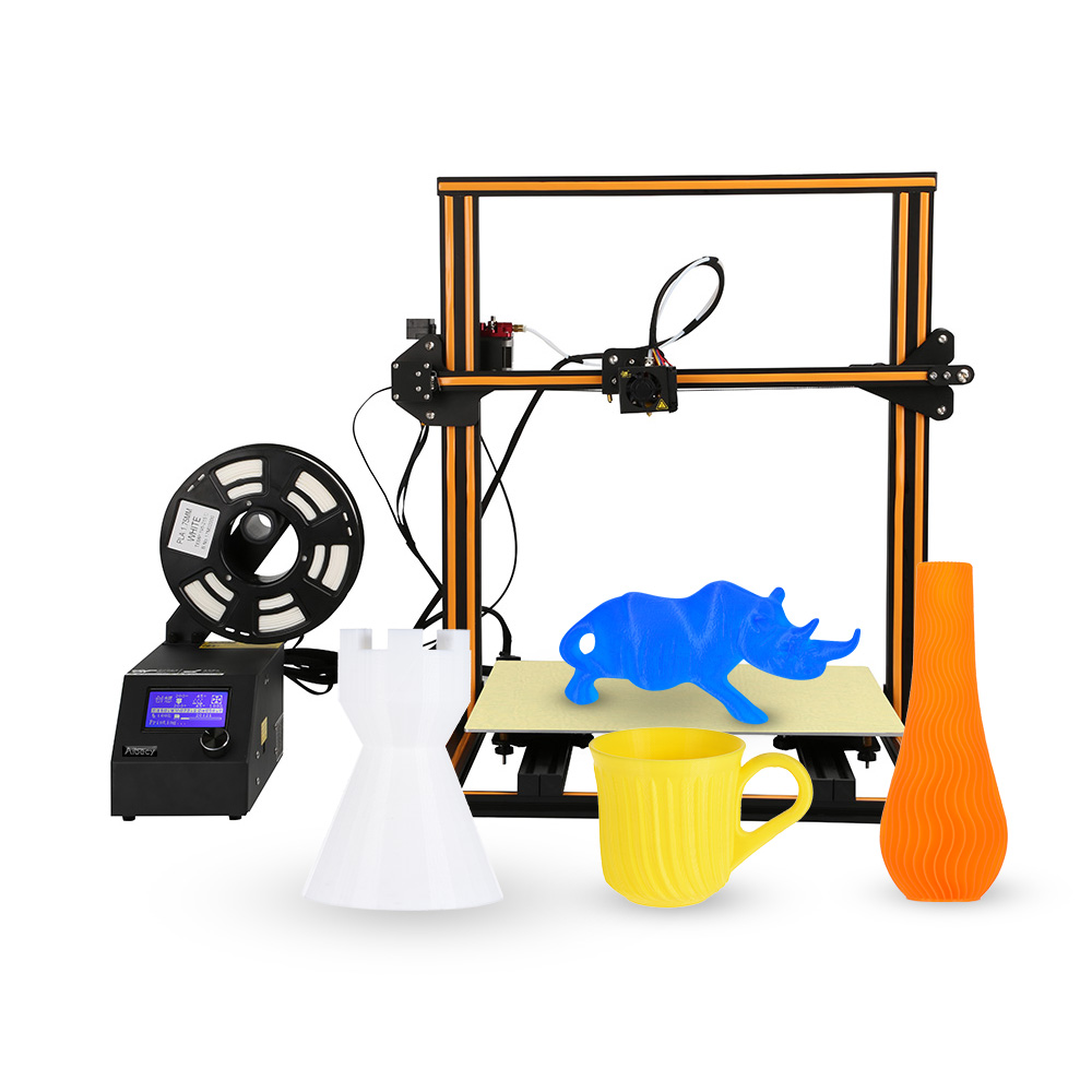 Aibecy CR-10 S4 High-precision Self-assemble DIY i3 3D printer Easy to Assemble Filament Run-out Detection Resume Printing Function