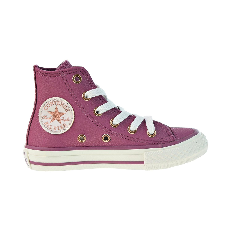 Converse - Converse Chuck Taylor All Star Hi Little Kids' Vintage Wine-Egret 660019c - Walmart.com