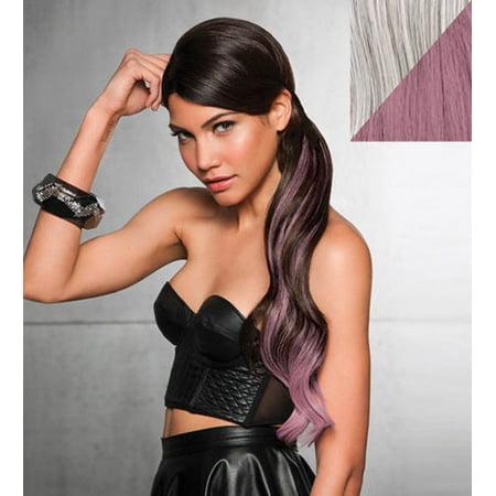 "Hairdo by Hair U Wear 23"" Color Splash Pony R56/60 Lavender"