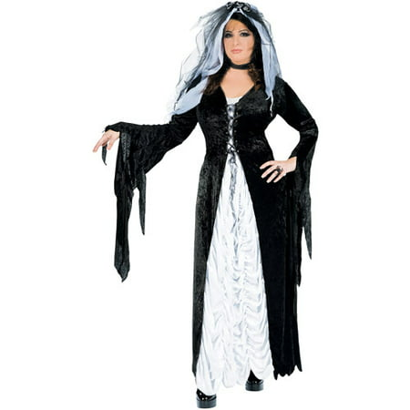 Bride of Darkness Adult Halloween - Zombie Bride Halloween Costume For Kids